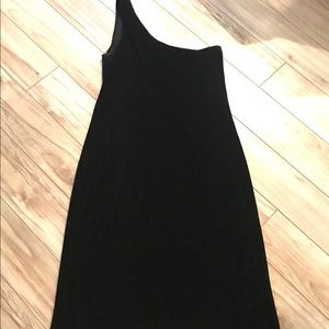 🐳 Calvin Klein One Shoulder Cocktail Dress